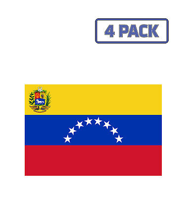 Venezuela Flag National Flag Nation Country  Sticker Vinyl Decal 1-1761