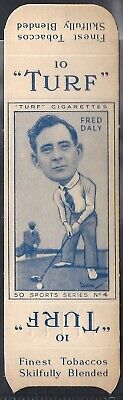 Carreras-Uncut Single Turf Slide-Sports Series-#04- Golf - Fred Daly