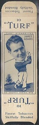 Carreras-Uncut Single Turf Slide-Sports Series-#12- Golf - James Adams