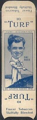 Carreras-Uncut Single Turf Slide-Sports Series-#13- Golf - Dai Rees