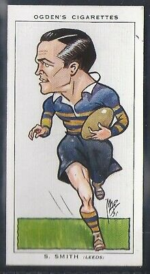 Ogdens-Football Caricatures-#48- Rugby League - Leeds - Smith