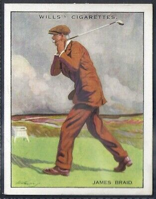 Wills-Famous Golf Ers-#01- James Braid