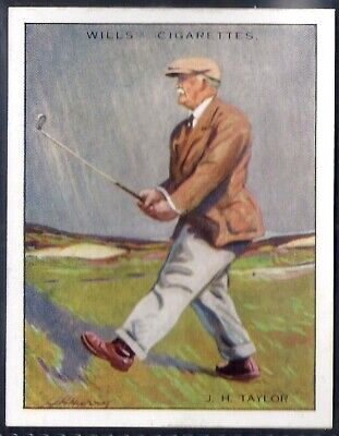 Wills-Famous Golf Ers-#20- John Henry Taylor