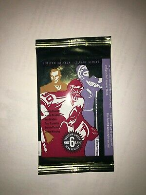 2015 Canada MNH Great Canadian NHL Goalies Souvenir Sheets Sealed Pack Of 6