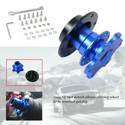 Car Steering Wheel Quick Release Hub Adapter Snap Off Boss  Screws Brench Sturdy