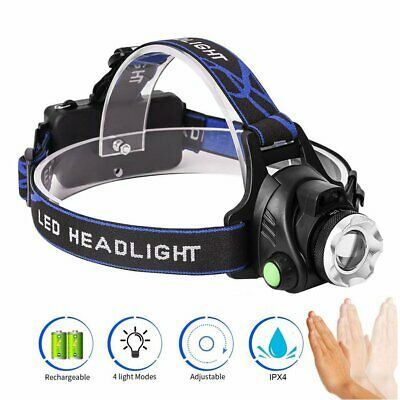 90000LM LED Waterproof Headlamp Rechargeable Headlight CREE XML-T6 Head Torch
