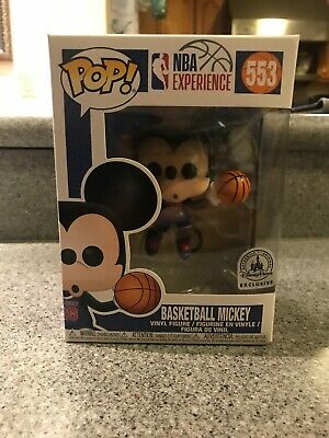 Disney Parks Exclusive NBA Experience Funko Pop - Basketball Mickey