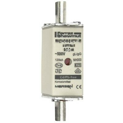 Mersen Blade Fuses 35A NH000 gL/gG Combination Indicator