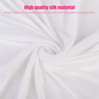 Anti-Wrinkle Ice Silk Backdrop Wedding Party Showroom Drape Curtain Cloth 3Mx3M