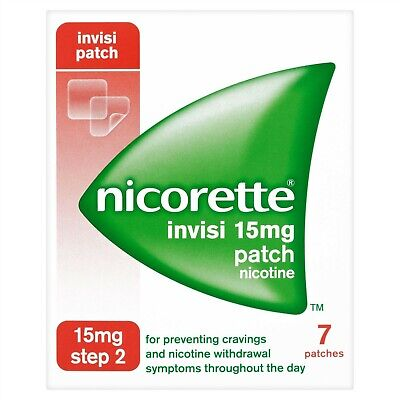 Nicorette Invisi Patch 25mg 7 Patches Step 2
