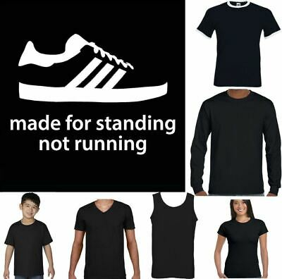 Made For Standing Mens T Shirt Football Casuals Hooligans Terrace Trimm Trab Top