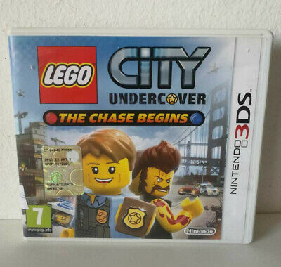 LEGO CITY UNDERCOVER THE CHASE BEGINS GIOCO PER NINTENDO 3DS Italiano PAL