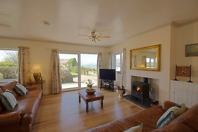 New Year Holiday Cottage in Church Bay Anglesey Sea Views Dog Friendly Sleeps 8