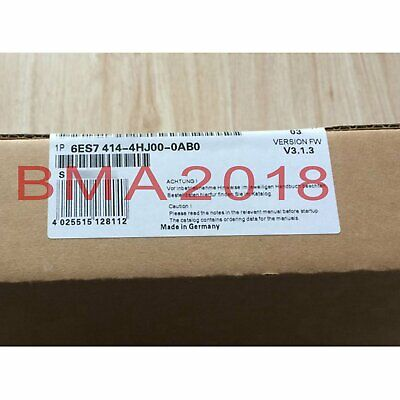 1PC Brand New Siemens 6ES7 414-4HJ00-0AB0 One year warranty fast delivery