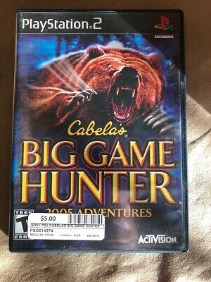 SONY Sony PlayStation 2 Game CABELAS BIG GAME HUNTER 2005 (PSO014374)
