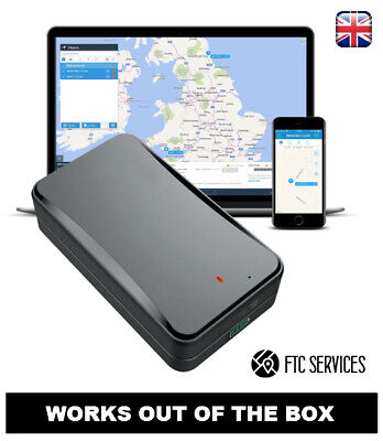 Caravan/Asset GPS Tracker Device - Rechargeable Integrated Battery