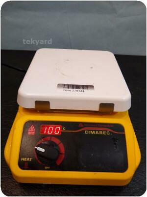 Barnstead THERMOLYNE CIMAREC HOT PLATE MAGNETIC STIRRER ! (230344)