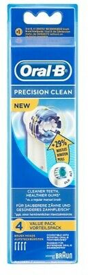 Braun Oral-B Precision Clean Electric Toothbrush Heads Replacement 4 Pack