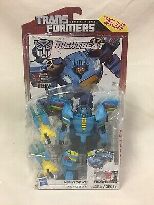 Transformers Generations Nightbeat New With Hasbro Exclusive Comic