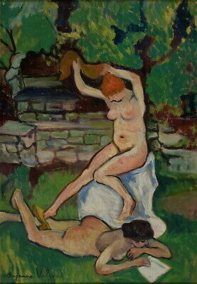 Suzanne Valadon Nudes Giclee Canvas Print Paintings Poster Reproduction