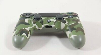 Sony Dualshock wireless controler for PlayStation 4 ,PS4 Green camouflage