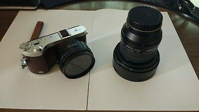 Samsung NX300M Mirrorless camera with flipable screen + 2 lenses + Accessories