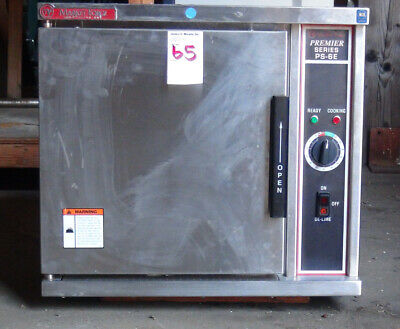 Market Forge PS-6E 24 inch Countertop Electric Premier Convection Steamer 6 Pan