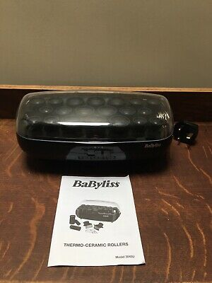 Babyliss Thermo Ceramic Heated Rollers & 20 Metal Pins *SUPERCLIPS MISSING BNWOB
