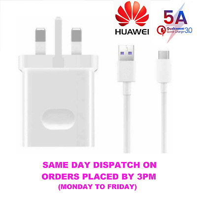 Genuine Huawei P20 P30 Pro Lite Type C USB Fast Charging Charger Data Cable 5A