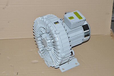 Hwang Hae 3 Phase HRB-200 Vacuum Pump Side Channel Blowers 0,75 -0, 93 Kw Top