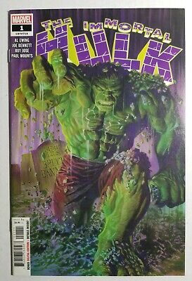 The Immortal Hulk #1 - Marvel Comics (2018) - Key Issue - High Grade Issue 😍🔥