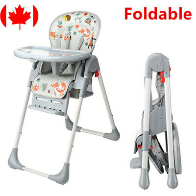 New Baby High Foldable Convertible Table Seat Booster Toddler Feeding Highchair