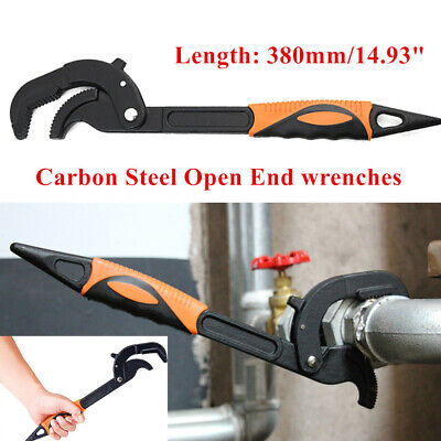 Multi-Function Adjustable Water Pipe Wrench Fast Spanner Hand Tool For Home