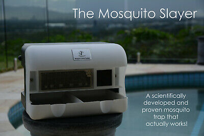 Mosquito Trap-The Mosquito Slayer. A Trap That Actually WORKS, Based on Science.