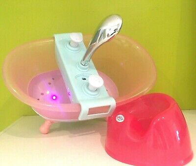 Baby Born  Musical Interactive  Bath Shower  and Potty Zapf Creations