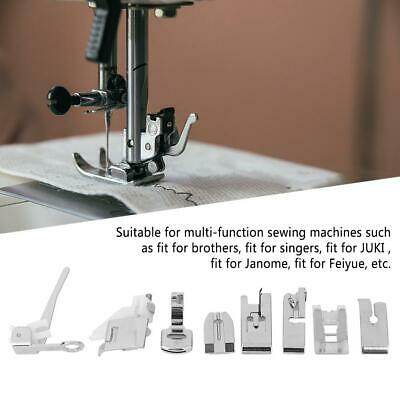 Metal Sewing Machine Foot Presser Feet Set for Brother Singer Janome Accessories