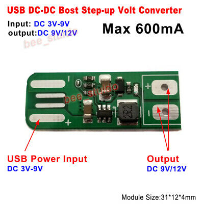 DC-DC Boost Step Up Isolated Volt Converter 5V to ±12V 125mA Power Supply Module