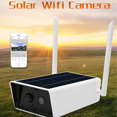 1080P Solar IP Camera Outdoor Waterproof 2MP Wireless Wi-Fi Security Camera HD