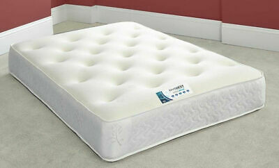 Cool Touch Memory Foam Mattress - New Cool Blue Memory Foam - 3ft, - 4ft6 - 5ft