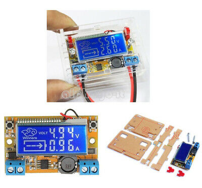DC-DC Adjustable Step-down Power Supply Module Voltage Current LCD Display