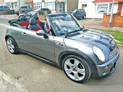 2005 Mini Cooper S 1.6 Supercharged Convertible Cat S Damaged Salvage Repairable