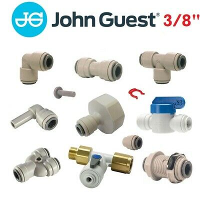 "John Guest 3/8"" Push Fit Fittings Drinks Dispense And Pure Water, Brewery, Tube"