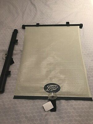 Boots Rear Window Car Blind x 2, Retractable, Brand New And Unused