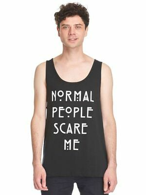 American Horror Story AHS Shirt - TANK TOP - Normal People Scare Me