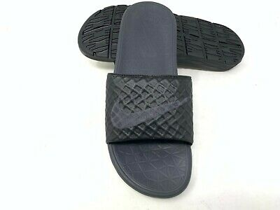 NEW! Nike Men's Benassi Solarsoft Slides Slip On Black #705474-091 (Z-Shelf) z