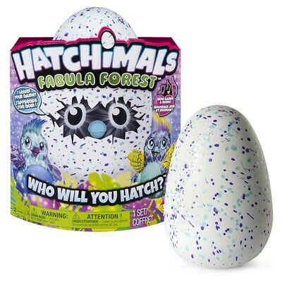 Hatchimals Fabula Forest W/ Interactive Puffatoo, Purple 953 *Distressed Pkg