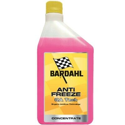 Anti Freeze Oa Tech Concentrato Liquido Radiatore Bardahl Rosso