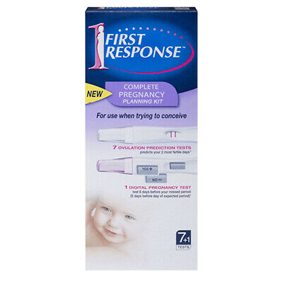 NEW First Response Pregnancy Planning Kit - 8 Tests