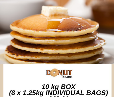 Pancake Flour Mix Crepe Mix Just add Water ready to use 1.25kg x 8 (10kg)