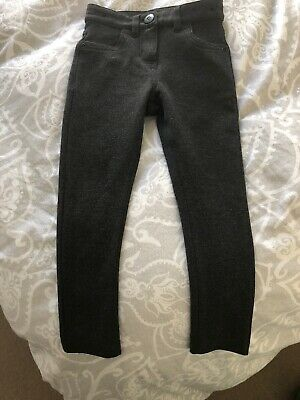 next school trousers Girls Skinny Style Small 3